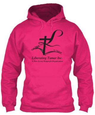 LT Hoodie Pink Front